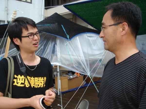 Adrain訪問光州市民軍